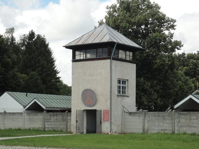 Watchtower dachau konzentrationslager.