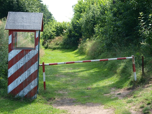Watchtower shed barrier.