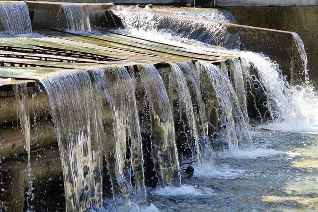 Water flow waterfall.