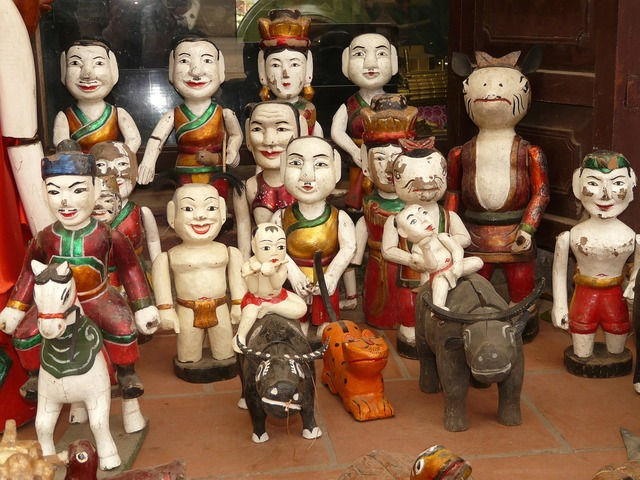Water puppet vietnam hanoi.