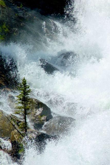 Water splash splashing water, nature landscapes.