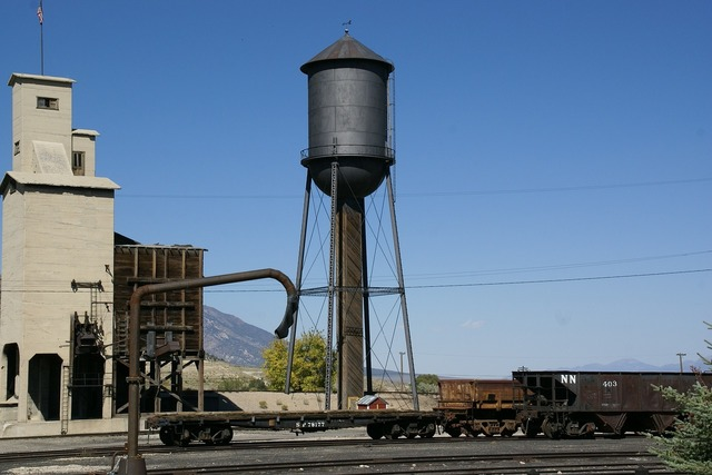 Water tower ely nevada.