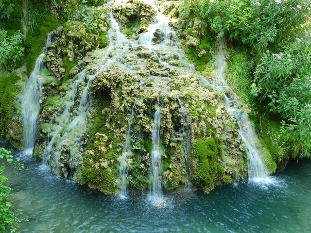 Waterfalls orbaneja burgos.