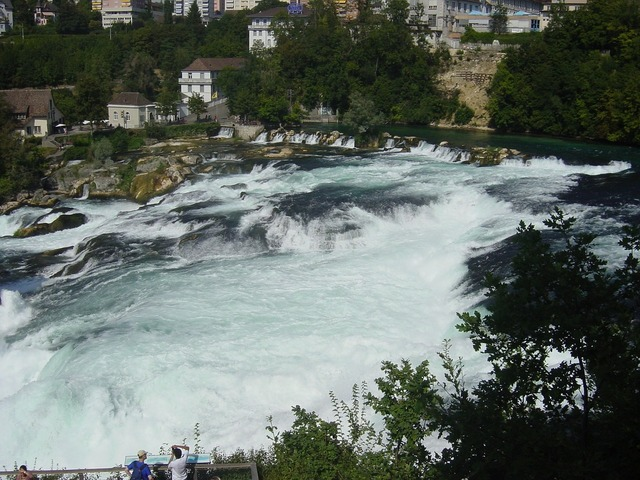 Waterfalls reno rhine falls.