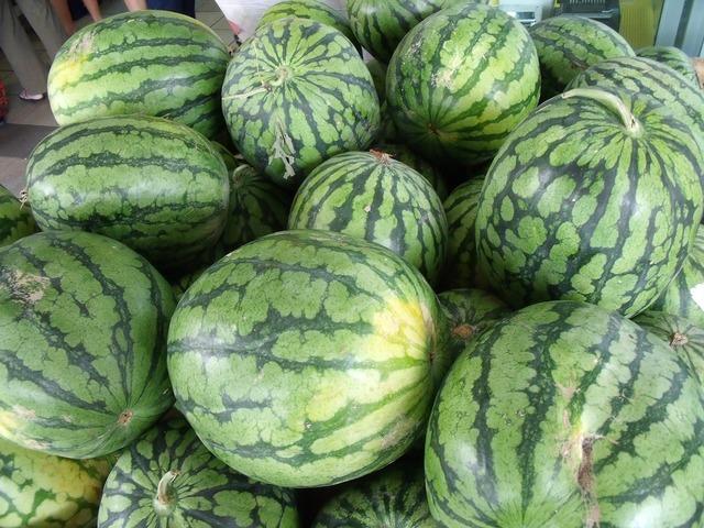 Watermelons pile fresh, health medical.