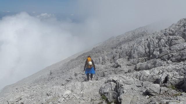 Watzmann mountaineering loneliness.