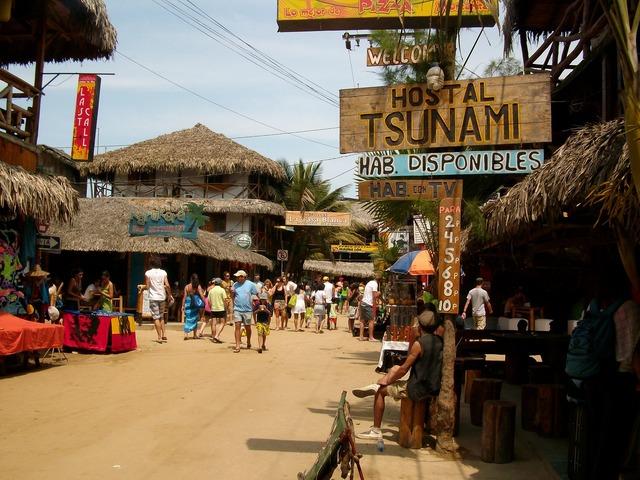 Wave surf ecuador, travel vacation.