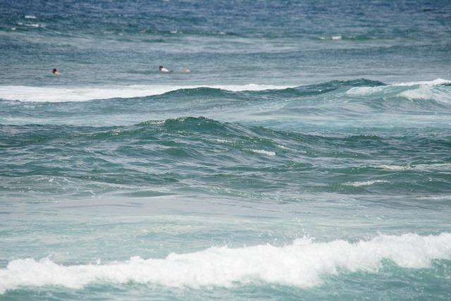 Waves tide sea, travel vacation.