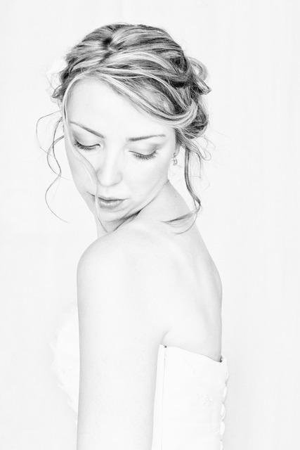 Wedding grace beauty, beauty fashion.