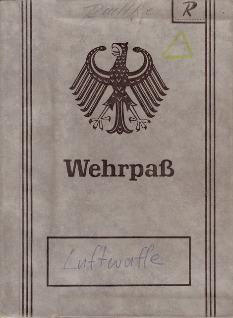Wehrpaß document military.