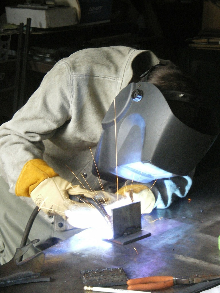 Welding blue-collar trades, industry craft.