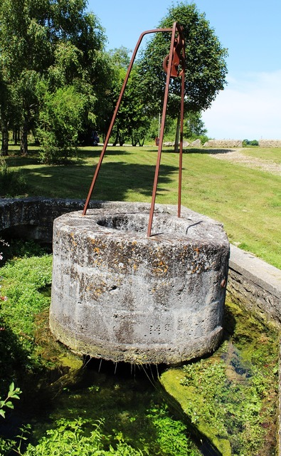 Well stone well france.