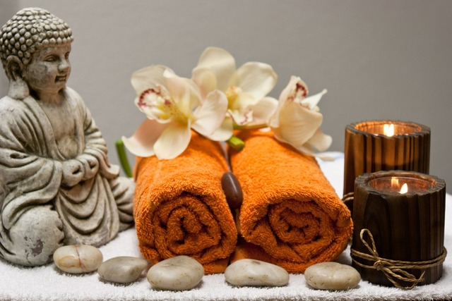 Wellness massage relax.