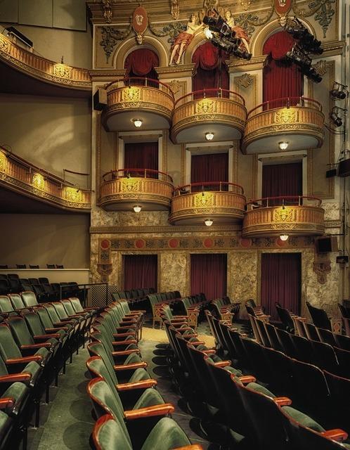 Wells theatre norfolk virginian, architecture buildings.