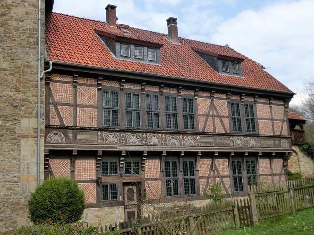 Weser weser uplands fachwerkhaus.