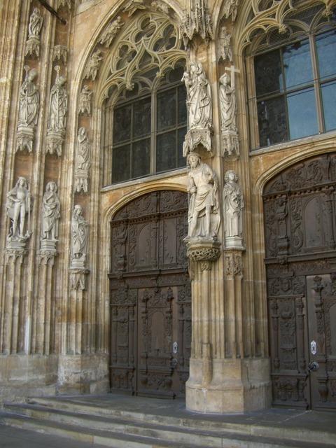 West portal portal hauptprtal, architecture buildings.