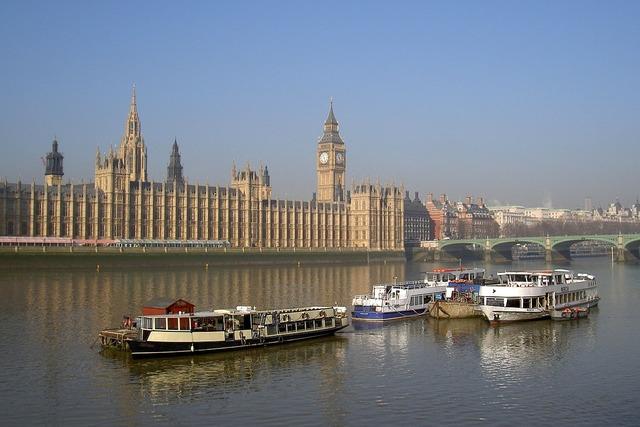 Westminster london thames.