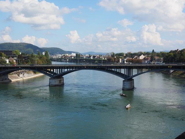 Wettsteinbrücke basel bridge.