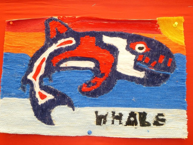 Whale first nations yarn.