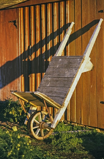 Wheelbarrows home building, architecture buildings.