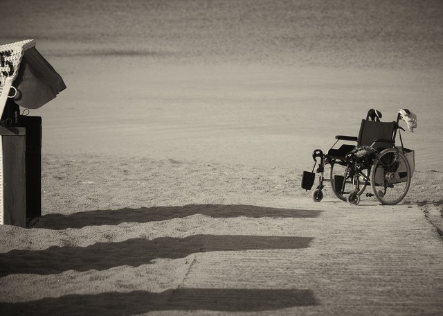 Wheelchair leave mobility, travel vacation.