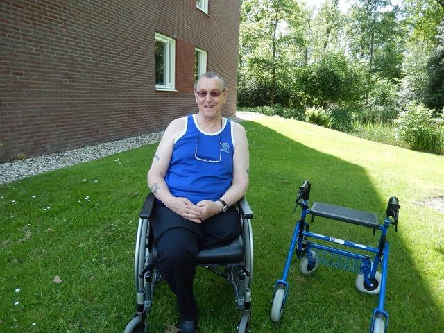 Wheelchair walker summer.