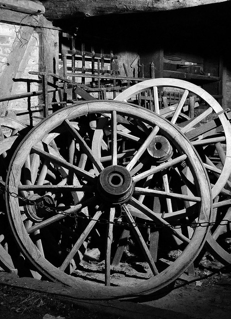 Wheels wagon wheel wooden wheels.