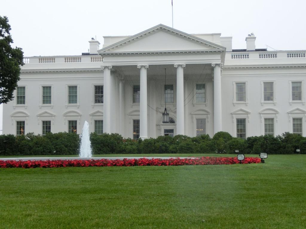 White house usa united states.