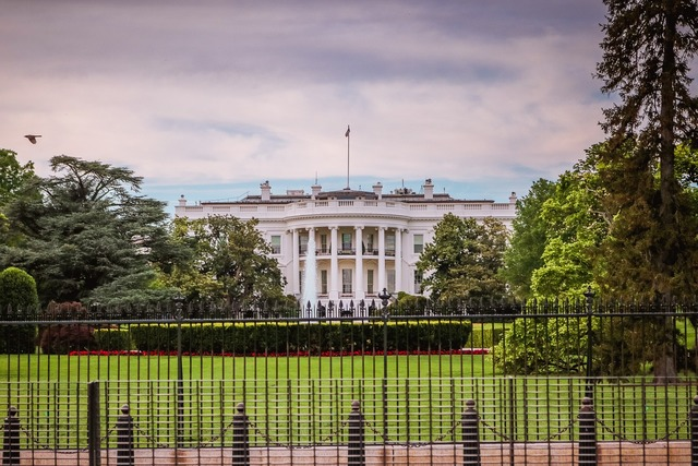 White house wa dc, architecture buildings.