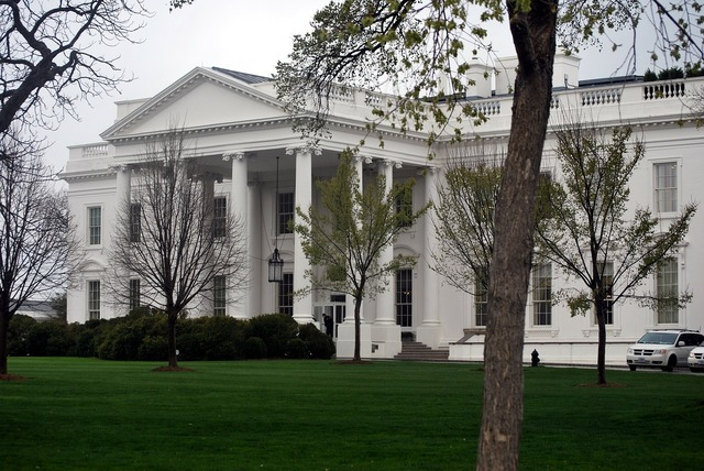 White house washington, architecture buildings.