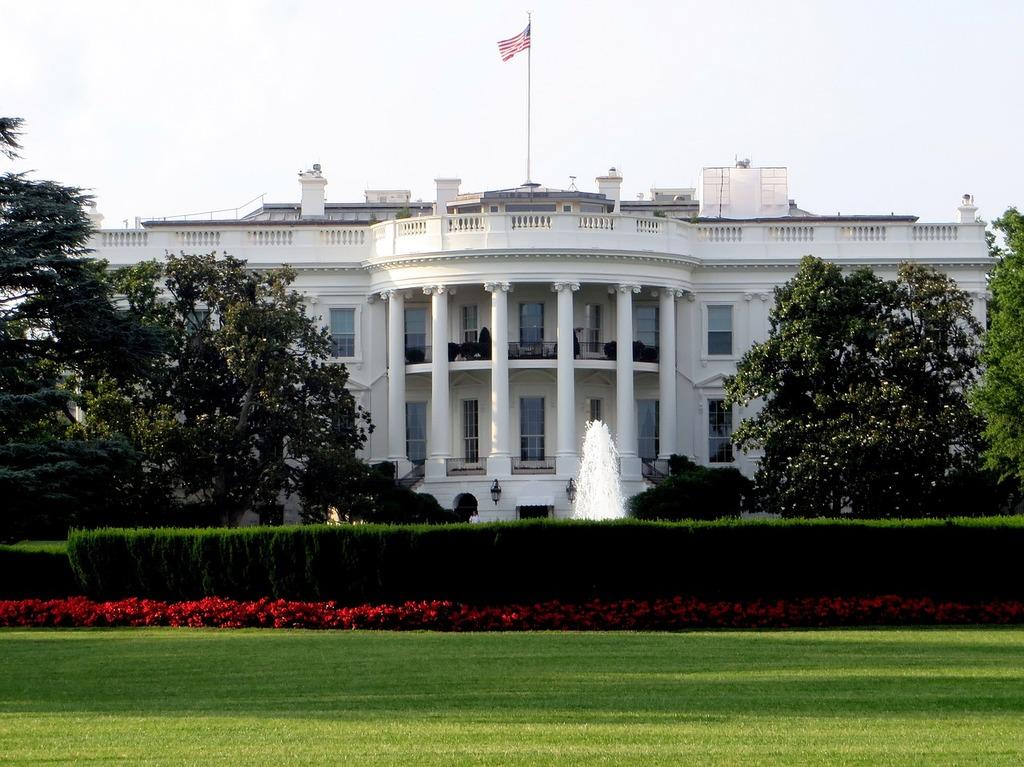 White house washington president, places monuments.