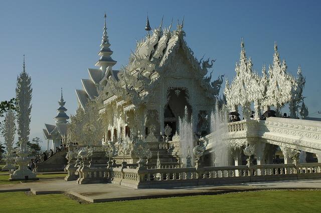 White temple thailand chiang rai.