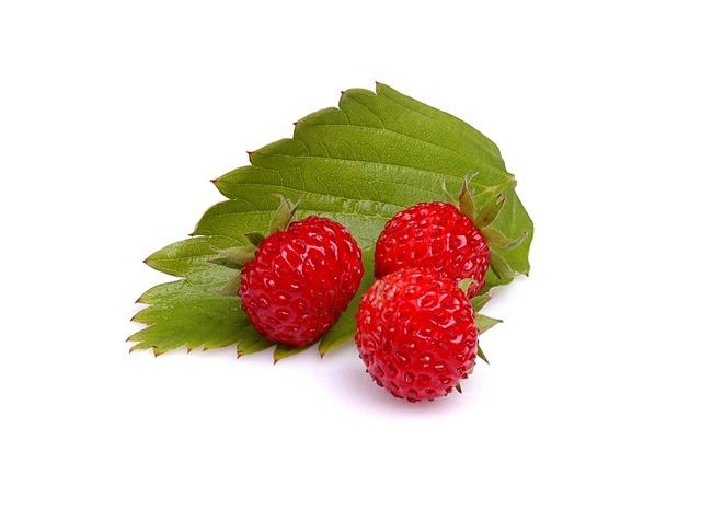 Wild strawberry summer.