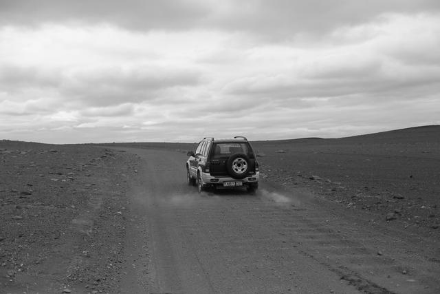 Wilderness dust grey all-terrain vehicle.