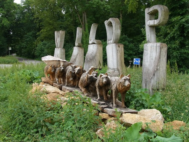Wildlife park mergentheim wood.