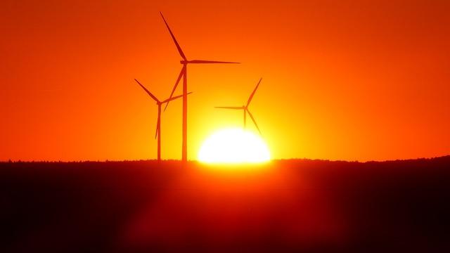 Wind power plant wind park windräder, science technology.
