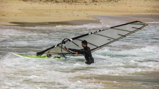 Wind surfing sport extreme, sports.
