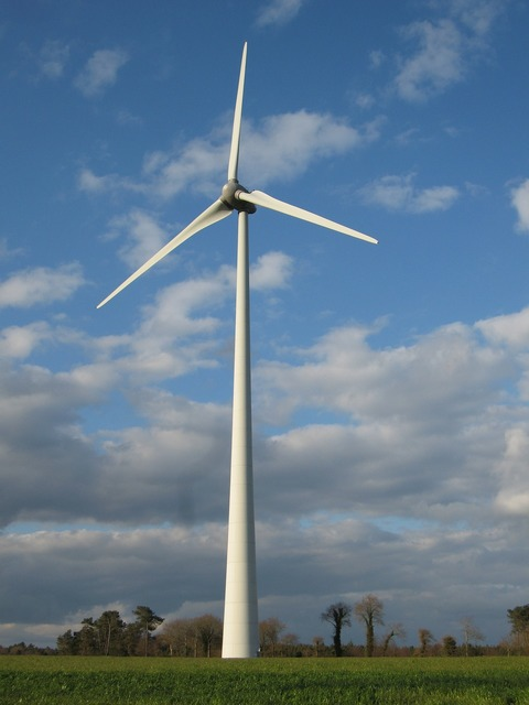 Wind turbine renewable energy environment.