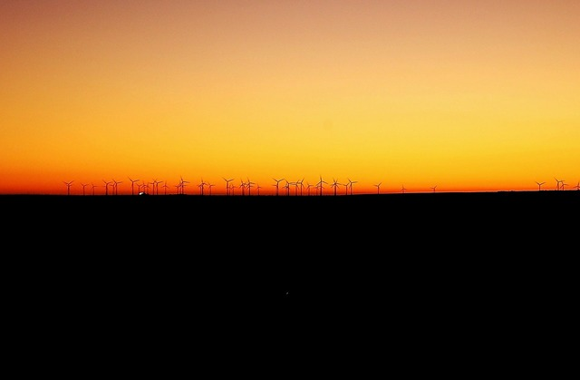 Wind wind farm landscape, nature landscapes.