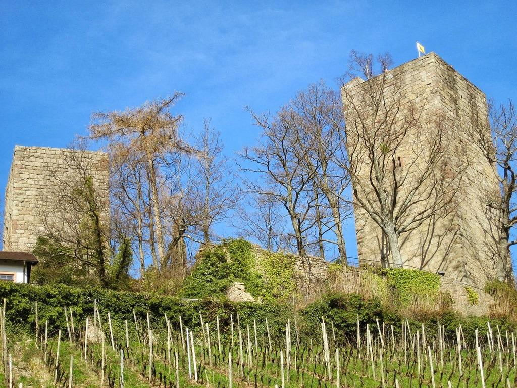 Windeck castle bühl swim, places monuments.