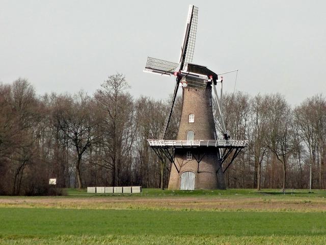 Windmill juffer netherlands, architecture buildings.