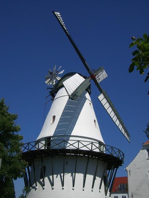 Windmill sonderburg mill.