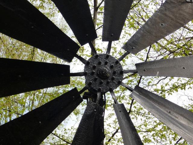 Windmill wing machine.