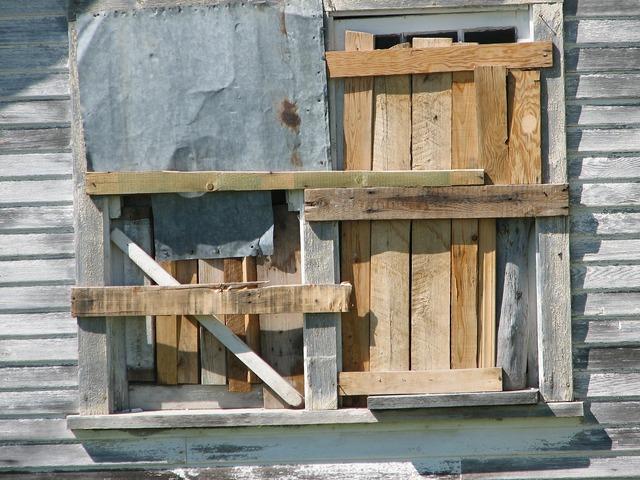 Window building demolition, architecture buildings.