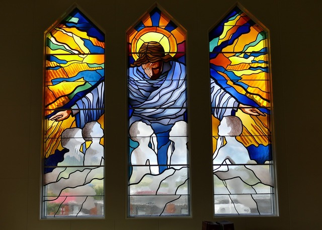 Window church window stained glass, religion.