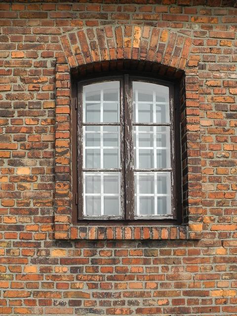 Window concentration camp dachau.