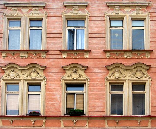 Window facade architecture, architecture buildings.