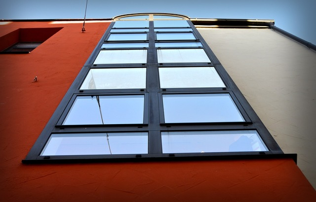 Window front facade, architecture buildings.