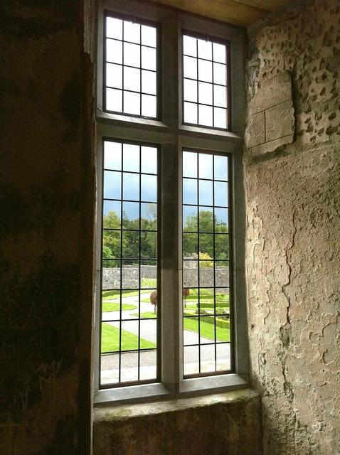 Window garden castle.