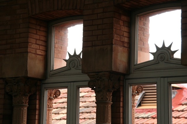 Window madrid ornament, architecture buildings.